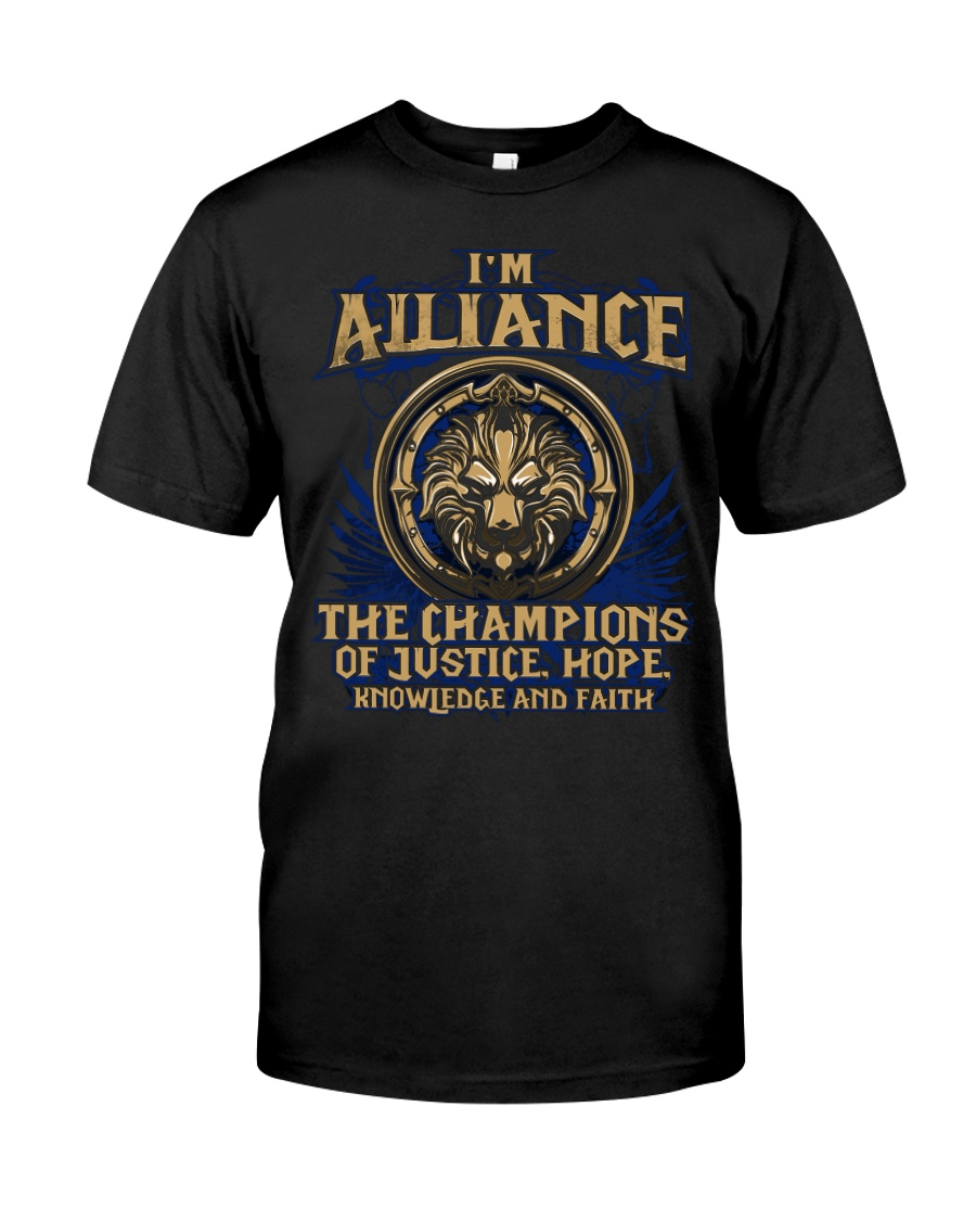 I'M ALLIANCE Premium Fit Mens Tee