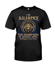 I'M ALLIANCE Premium Fit Mens Tee front