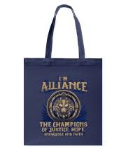 I'M ALLIANCE Tote Bag thumbnail