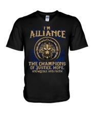 I'M ALLIANCE V-Neck T-Shirt thumbnail