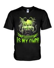MY DESTINY IS MY OWN V-Neck T-Shirt thumbnail