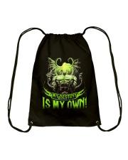 MY DESTINY IS MY OWN Drawstring Bag thumbnail