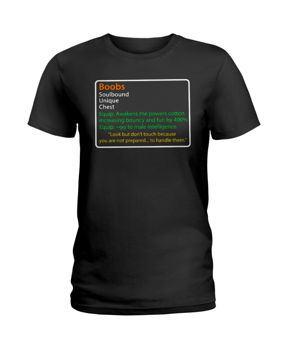 b722f30b3 BOOBS - LEGENDARY SHIRT Ladies T-Shirt