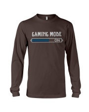 GAMING MODE ON Long Sleeve Tee tile