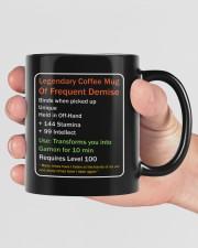 LEGENDARY COFFEE MUG OF FREQUENT DEMISE Mug ceramic-mug-lifestyle-40