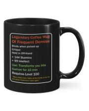 LEGENDARY COFFEE MUG OF FREQUENT DEMISE Mug front