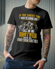 CALL ON ME - ALLIANCE BROTHER  Classic T-Shirt lifestyle-mens-crewneck-front-6