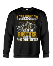 CALL ON ME - ALLIANCE BROTHER  Crewneck Sweatshirt thumbnail