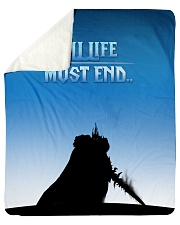 """ALL-OVER PRINT VER 4-  LICH KING Sherpa Fleece Blanket - 50"""" x 60"""" front"""