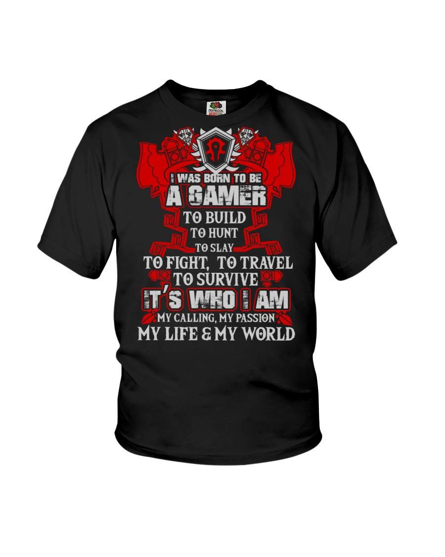 HORDE GAMER Youth T-Shirt showcase