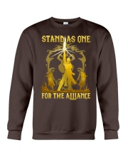 STAND AS ONE - FOR THE ALLIANCE Crewneck Sweatshirt thumbnail