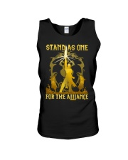 STAND AS ONE - FOR THE ALLIANCE Unisex Tank thumbnail
