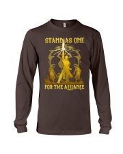 STAND AS ONE - FOR THE ALLIANCE Long Sleeve Tee thumbnail