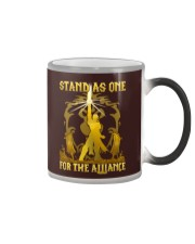STAND AS ONE - FOR THE ALLIANCE Color Changing Mug thumbnail