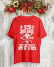 BLOOD DEATH KNIGHT Classic T-Shirt lifestyle-holiday-crewneck-front-2