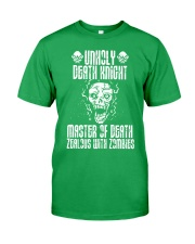 UNHOLY DEATH KNIGHT Classic T-Shirt front
