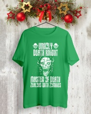 UNHOLY DEATH KNIGHT Classic T-Shirt lifestyle-holiday-crewneck-front-2