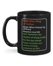 LEGENDARY MUG OF COFFEE 2 Mug back