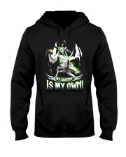 MY DESTINY IS MY OWN Hooded Sweatshirt front