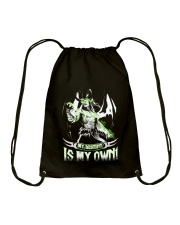 MY DESTINY IS MY OWN Drawstring Bag tile
