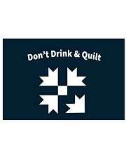Don't Drink And Quilt 17x11 Poster thumbnail