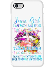 June girl I am who I am I have Phone Case thumbnail