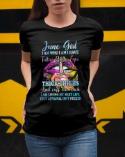 June girl I am who I am I have Ladies T-Shirt apparel-ladies-t-shirt-lifestyle-04