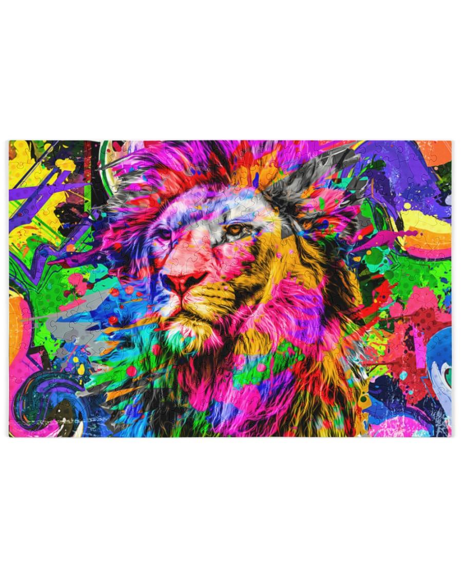 Lion puzzle 250 Piece Puzzle (horizontal)