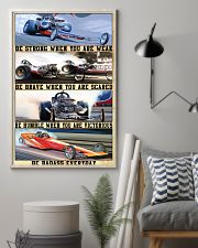 Be Strong Drag Racing 24x36 Poster lifestyle-poster-1