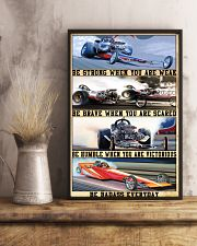 Be Strong Drag Racing 24x36 Poster lifestyle-poster-3