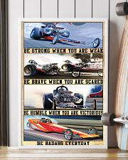 Be Strong Drag Racing 24x36 Poster lifestyle-poster-4