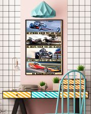 Be Strong Drag Racing 24x36 Poster lifestyle-poster-6
