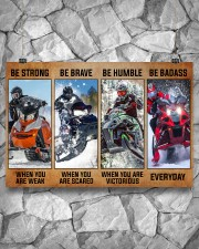 Sledding be strong poster 36x24 Poster aos-poster-landscape-36x24-lifestyle-12