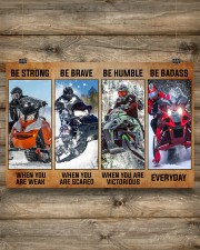 Sledding be strong poster 36x24 Poster aos-poster-landscape-36x24-lifestyle-13