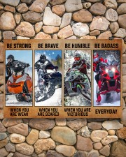 Sledding be strong poster 36x24 Poster aos-poster-landscape-36x24-lifestyle-14