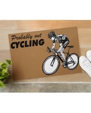 "Cycling Doormat 34"" x 23"" aos-doormat-34-x-23-lifestyle-front-11"