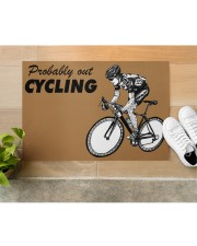 "Cycling Doormat 34"" x 23"" aos-doormat-34-x-23-lifestyle-front-12"