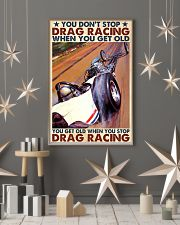 drag racing you dont stop 24x36 Poster lifestyle-holiday-poster-1
