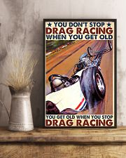 drag racing you dont stop 24x36 Poster lifestyle-poster-3