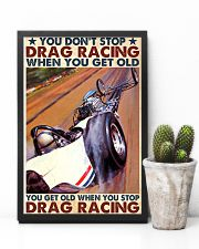 drag racing you dont stop 24x36 Poster lifestyle-poster-8