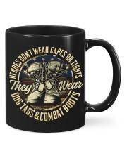 veteran combat boots Mug front