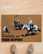 """Team Roping Doormat 34"""" x 23"""" aos-doormat-34-x-23-lifestyle-front-02"""