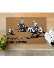 """Team Roping Doormat 34"""" x 23"""" aos-doormat-34-x-23-lifestyle-front-12"""