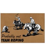 """Team Roping Doormat 34"""" x 23"""" front"""