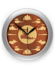 Drag Racing clock 2 Wall Clock front