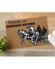 "CARRIAGE DRIVING Doormat 34"" x 23"" aos-doormat-34-x-23-lifestyle-front-11"
