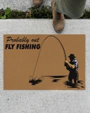 "Fly Fishing Doormat 34"" x 23"" aos-doormat-34-x-23-lifestyle-front-01"