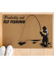 "Fly Fishing Doormat 34"" x 23"" aos-doormat-34-x-23-lifestyle-front-03"