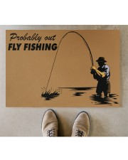 "Fly Fishing Doormat 34"" x 23"" aos-doormat-34-x-23-lifestyle-front-04"