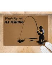 "Fly Fishing Doormat 34"" x 23"" aos-doormat-34-x-23-lifestyle-front-05"